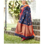 DKKS23 - Soft linen silk with Minakari work