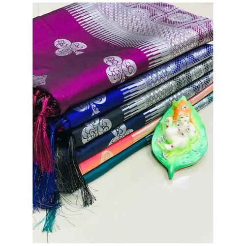 DL11 - Pure Lichi Silk Saree