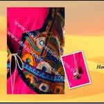 Designer hand embroidered kutchwork jacket kurti