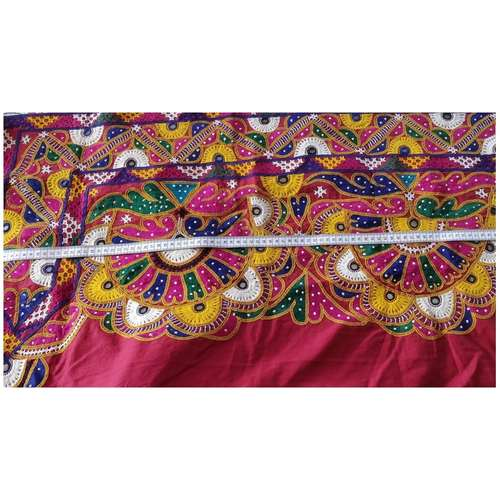DKW03 - Kutch work hand embroidered Fabric
