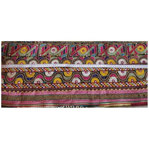 DKW01 - Kutch work hand embroidered Fabric