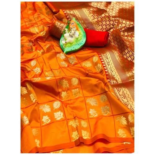 DL27 - Lichi Soft Silk Saree