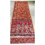 DK11 - Vegetable coloured Mangalgiri cotton Kalamkari Sarees