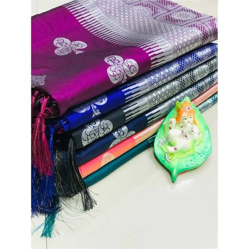 DL14 - Pure Lichi Silk Saree