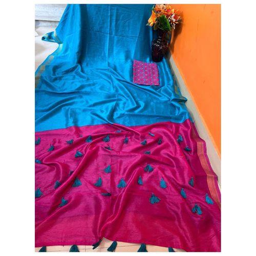DCS03-  Pure Cotton Silk Sarees