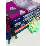 DL12 - Pure Lichi Silk Saree