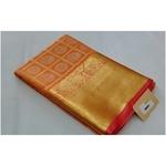 DKKS03 - Kanchipuram look alike woven silk saree with rich pallu