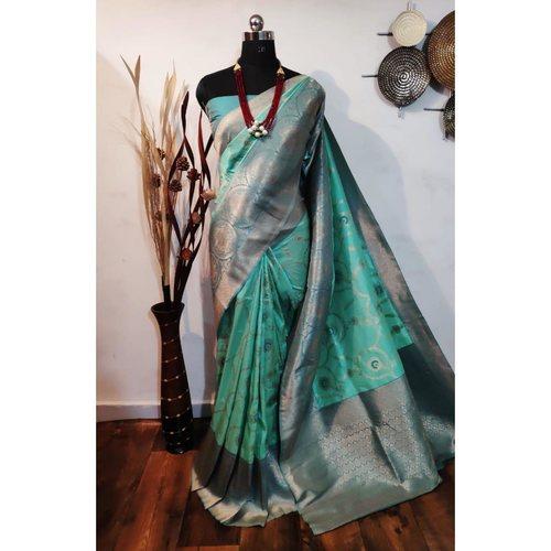 DBS08- Silkmixed  Benarasi Saree