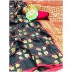 DL23 - Lichi Soft Silk Saree