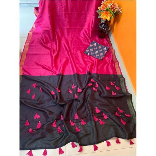DCS06-  Pure Cotton Silk Sarees