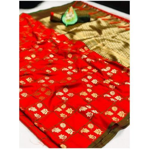 DL26 - Lichi Soft Silk Saree