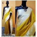 DKS10-  Khadi Raw silk Sarees