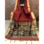 DJM04 - Linen Silk Jamdaani Saree