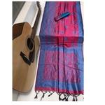 DRS07 - Raw Silk Saree with kalamkari woven Pallu