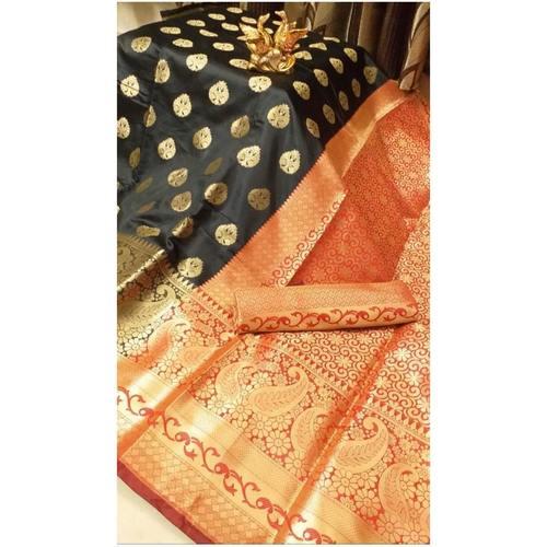 DKB01 - Kalash - Benarasi Silk Sarees with Heavy Pallu