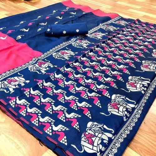 DB02 - Silk Banarasi Saree
