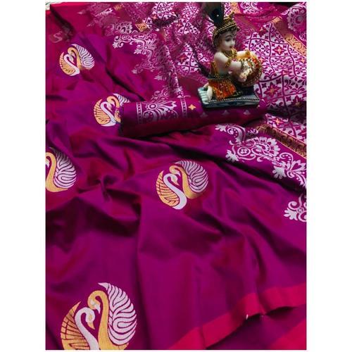 DL02 - Lichi Silk Saree