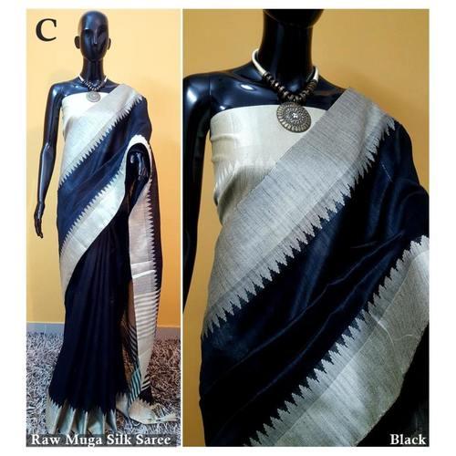 DKS04-  Khadi Raw silk Sarees