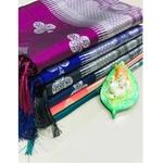 DL09 - Pure Lichi Silk Saree
