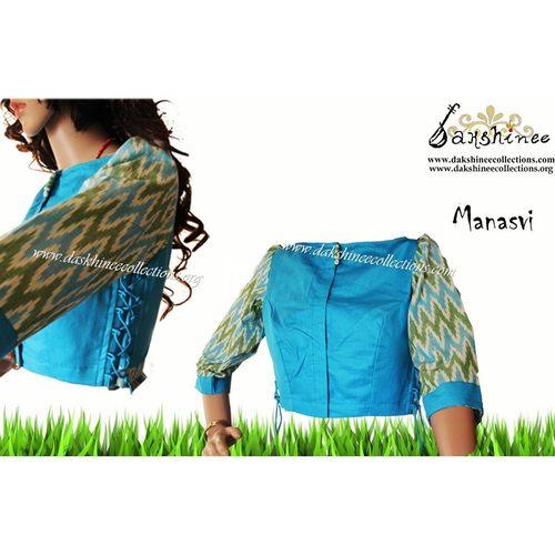 DKC6COA12-SOB047 - Designer ready to wear blouse