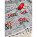 DMC02 - Modal cotton chex with banglori silk blouse