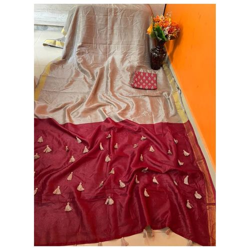 DCS10-  Pure Cotton Silk Sarees