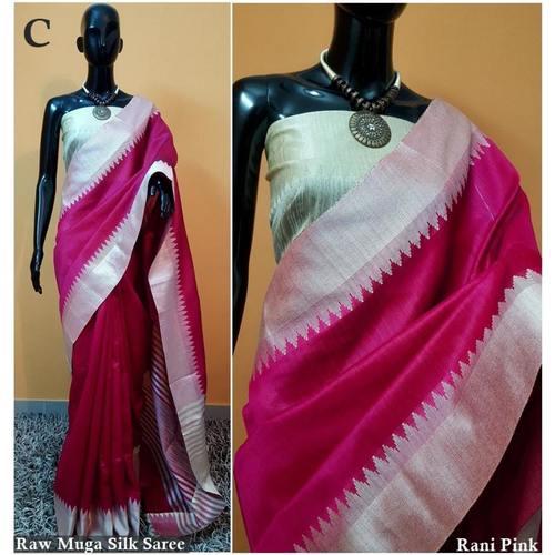 DKS06-  Khadi Raw silk Sarees