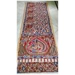 DK06 - Vegetable coloured Mangalgiri cotton Kalamkari Sarees