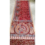 DK03 - Vegetable coloured Mangalgiri cotton Kalamkari Sarees