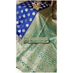 DKB04 - Kalash - Benarasi Silk Sarees with Heavy Pallu