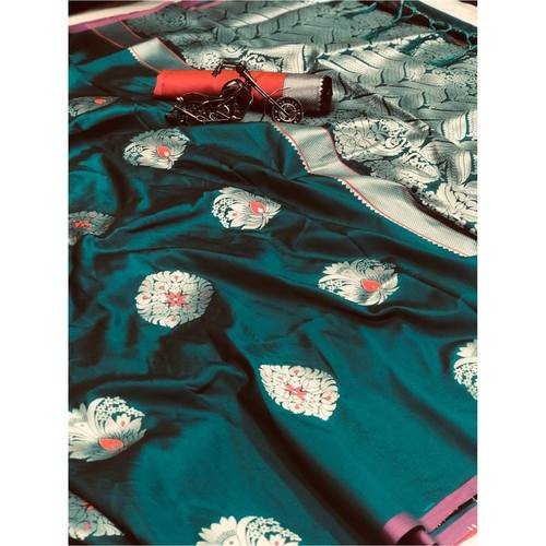 DPS13 - Pari- Soft Kesari Silk Sarees