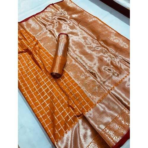 DLZ02 - Lichi Silk with silver zari weave