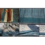 DKC1COA8-SPW004-R - Handloom Sambalpuri Cotton saree