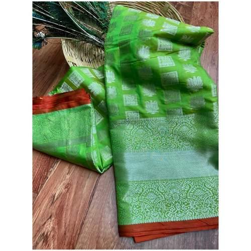 DL20 - Lichi Soft Silk Saree
