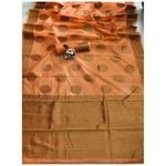 DSLC02 - Soft Linen Cotton weave Saree