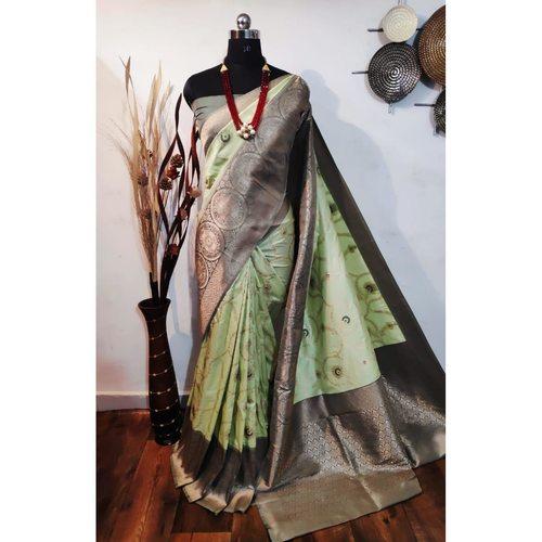DBS10- Silkmixed  Benarasi Saree