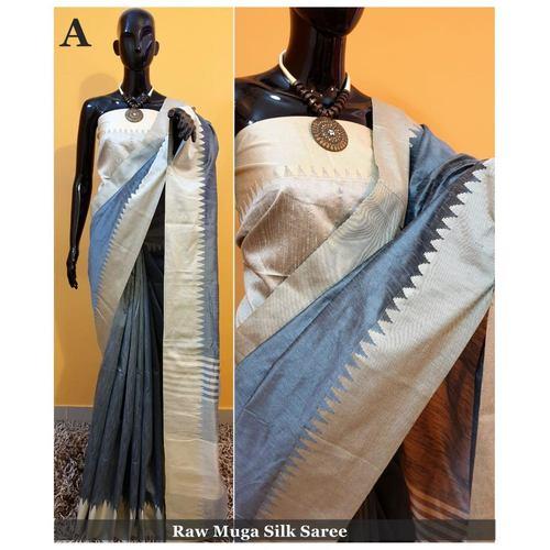 DKS13-  Khadi Raw silk Sarees