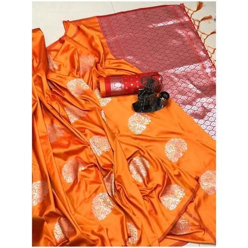 DLJ04-  Lilchi Silk Jacquard woven Saree