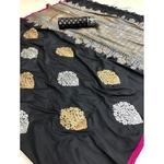 DLS15- Lichi Silk with jacqard weave pallu