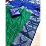 DLS10-  Lichi Silk with jacqard weave pallu