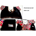 DKKWB023 - Hand embroidered Kutch work Ready to wear blouse
