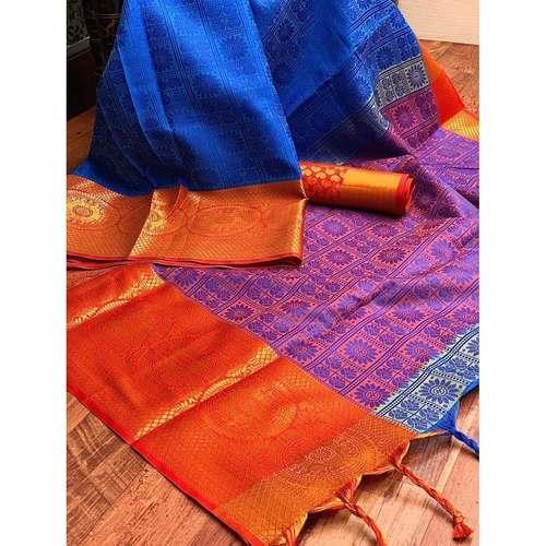 DT29- Tanchoi Silk Saree