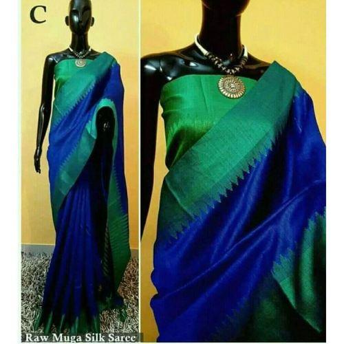 DKS07-  Khadi Raw silk Sarees