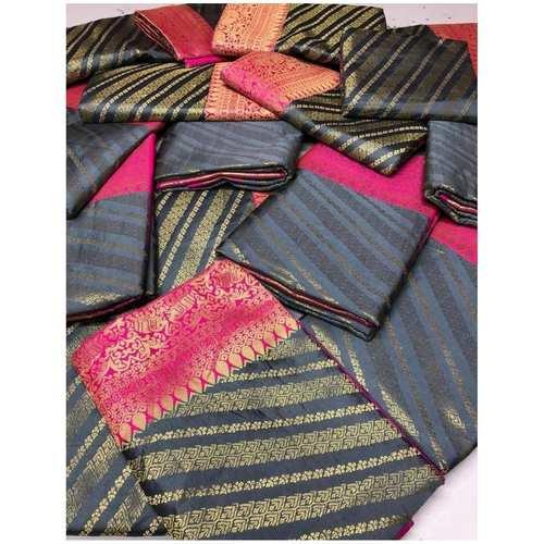 DKCS01 - Kanchipuram look alike silk saree