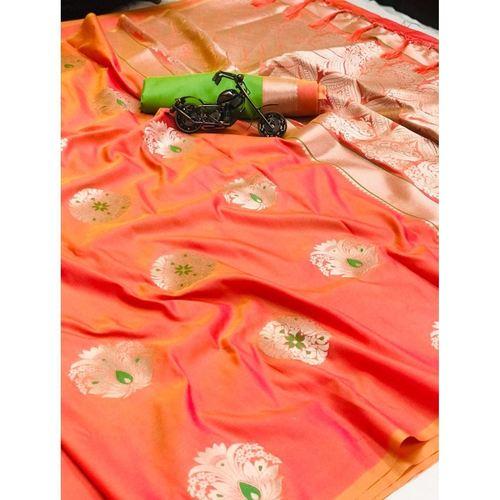 DPS08 - Pari- Soft Kesari Silk Sarees