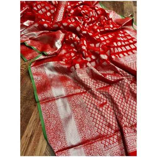 DL22 - Lichi Soft Silk Saree
