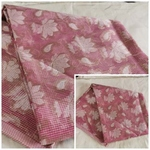 180 - designer Soft silk cotton fabric