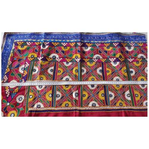 DKW05 - Kutch work hand embroidered Fabric