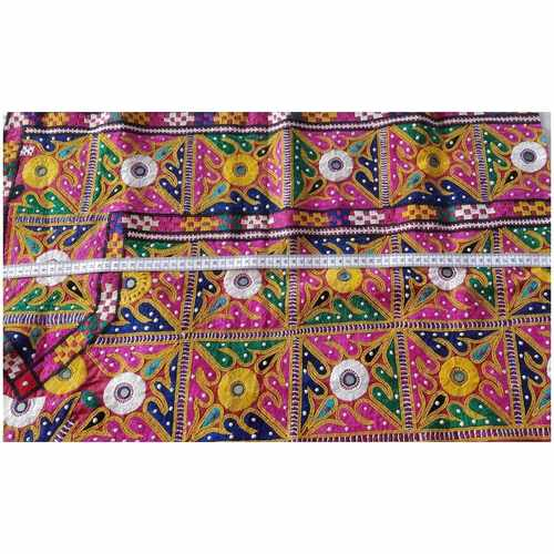 DKW04 - Kutch work hand embroidered Fabric