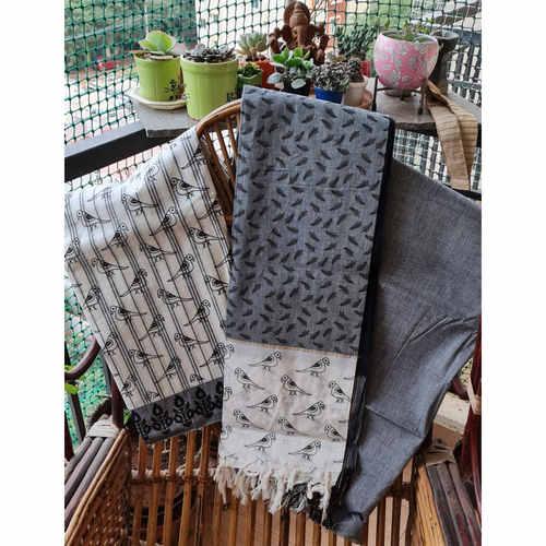 Handloom Mangalgiri Cotton Material